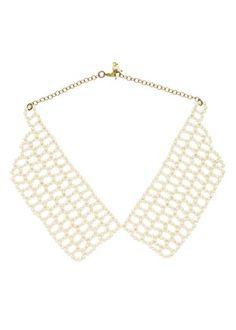 People Tree - Jewellery - Pearl Beaded Collar Necklace