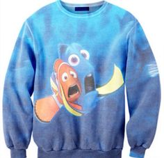 Finding Nemo crew neck