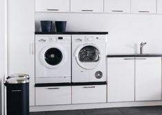 "Visit our internet site for even more details on ""laundry room storage diy budget"". It is a superb place to find out more. Laundry Room Shelves, Laundry Room Cabinets, Basement Laundry, Small Laundry Rooms, Laundry Room Organization, Laundry In Bathroom, Diy Cabinets, Laundry Baskets, Laundry Room Inspiration"