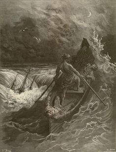Gustave Dore, The Rime of the Ancient Mariner, Plate 32: The Pilot