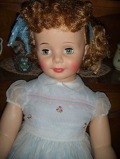 IDEAL'S BEAUTIFUL BABY FACE PATTY PLAYPAL DOLL / ALL ORIGINAL