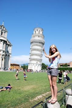 Classic Leaning Tower of Pisa tourist shot. I guess I would go again..