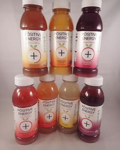 A Positive Energy pyramid: these lil guys have become my go-to morning beverage.  100 mg of organic green coffee caffeine per bottle mixed with real fruit juices and teas. My personal faves would have to be Peach Mango Lemonade and the Lemonade Tea. Thanks @drinkpositiveenergy for making an energy drink that isn't filled with crap! I  you!