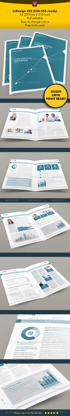 Social Media Business Project Proposal Template Indesign Indd A