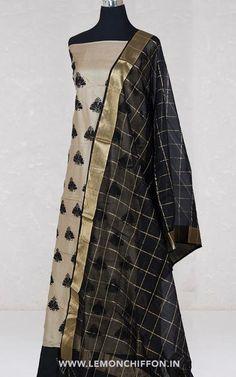 Salwar Suits   Lemon Chiffon Salwar Suits, Long Dresses, Pure Silk, Ethnic, Lemon, Chiffon, Pure Products, Embroidery, Clothes For Women