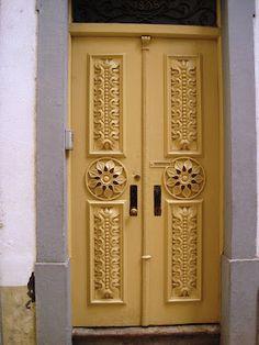 door in Coimbra, Portugal