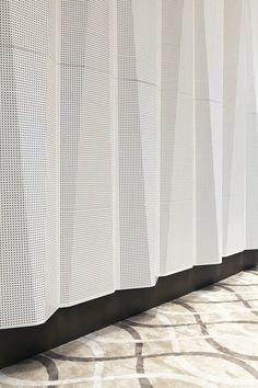Gallery of Sipopo Congress Center / Tabanlioglu Architects – 9 tabanlioglu architects: sipopo congress center Facade Design, Wall Design, Floor Design, Detail Architecture, Acoustic Architecture, Angular Architecture, Folding Architecture, Metal Screen, Metal Panels
