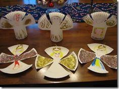 Lots of great Nativity/Christmas crafts for my Kinders - Totally Tots