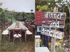 Rustic Backyard Wedding // see more on lemagnifiqueblog.com