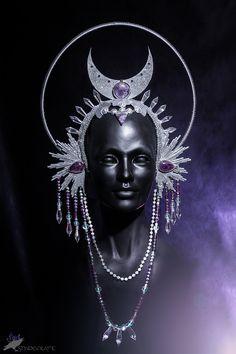 Shadecraft — Stellar - a brand new cosmic headdress with...