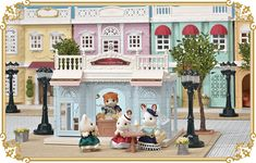 New Sylvanian Families Town Theme Japan June 2017 Ice cream