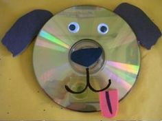 cd dog craft  |   Crafts and Worksheets for Preschool,Toddler and Kindergarten