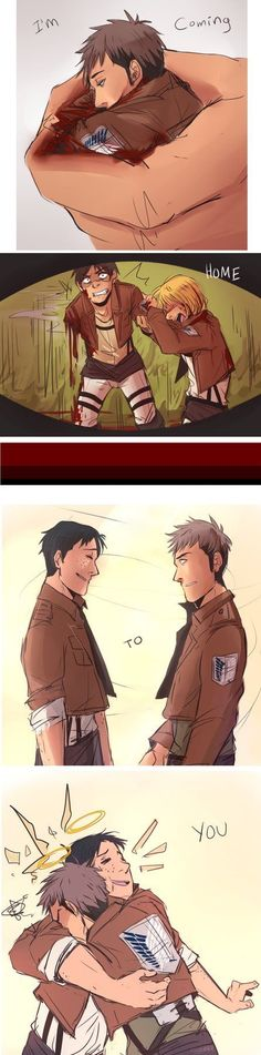 I'm not really sure if I'm supposed to be crying because Jean, or if I'm happy for him to be with Marco again..so, I'm both...