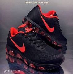 mens nike air max tailwind 6 red white