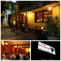 Cafe Boujolais - local dinning - check it out!