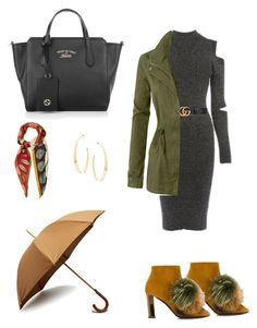 """""""#winter"""" by loredana-tonno on Polyvore featuring moda, Warehouse, Gucci, Pollini, London Undercover, LE3NO, Lana e Valentino"""