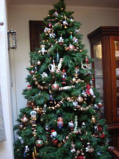 My Nutcracker Tree - this one is in the Dining Room