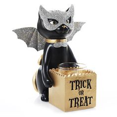 Spooktacular Sophia Trick or Treat : Votive Holder : Yankee  - $16.99 (2016)