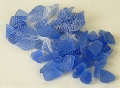 Beach Glass Blue Frosted 3 lbs