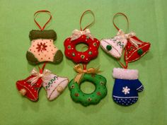Christmas tree holiday ornament decorating by threebusybeez, $23.99