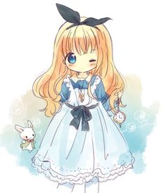 Anime / Manga Alice In Wonderland White Rabbit