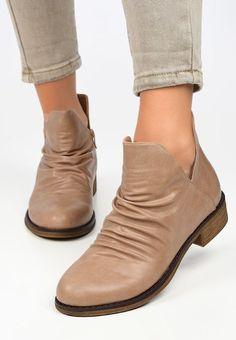 Botine dama Aeziana V2 Bej Booty, Ankle, Shoes, Fashion, Moda, Swag, Zapatos, Wall Plug, Shoes Outlet