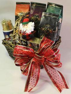 Christmas Coffee Gift Basket - http://www.fivedollarmarket.com/christmas-coffee-gift-basket/