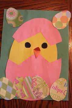chick Easter art