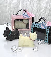 What a great gift for the dog lover! This dog candle comes nicely ...