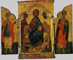 Деисис (складень); Греция; XVII в.