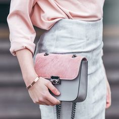 Go happy pink bag #musthave #pink #grey #cute