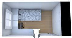 Amueblar habitacion pequeña | Decorar tu casa es facilisimo.com