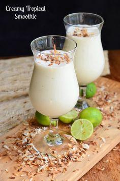 Creamy Tropical Smoo