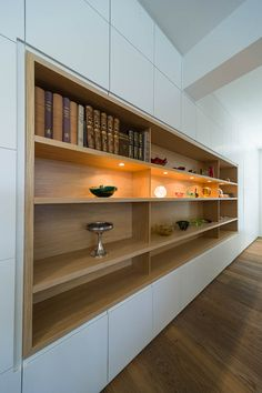 Home Room Design, Home Office Design, Home Interior Design, Living Room Designs, Living Room Decor, House Design, Built In Cabinets, Built In Shelves, Built Ins
