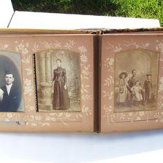 Victorian Photo Album  Celluloid Photo Album   Landscape Scene   Antique Celluloid. $179.00, via Etsy.