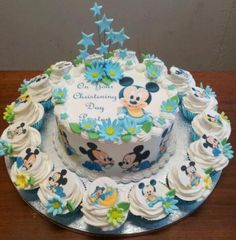 Resultado de imagen para mickey baby cake