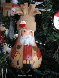 Fisherman Lightbulb Ornament by CyndiMacsNickKnacks on Etsy, $17.95