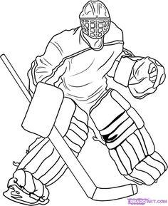 Hockey Party, Printable , Hockey Crafts , Kids Crafts , Sports, Hockey ...