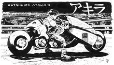 Mercenary Garage: Kaneda Bike