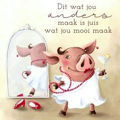 Afrikaans Quotes, Baby Pigs, Good Vibes, Wisdom Quotes, Birthday Wishes, Birthdays, Language, Messages, Motivation
