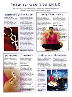 DIY your photo charms, 100% compatible with Pandora bracelets. Make your gifts special. Make your life special! Book of Shadows: #BOS How to Use the Ankh page.