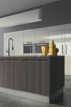 What makes this style a must-have for most individuals is that it goes perfectly with contemporary-style kitchens as well as traditional-style kitchens. High Gloss Kitchen Cabinets, European Kitchen Cabinets, European Kitchens, Kitchen Cabinet Styles, Contemporary Style, Modern, Shaker Style, Kitchen Styling, Traditional