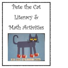 Pete the Cat by Eric Litwin is a class favorite!  Included in this resource are full color directions for making Pete the Cat. There are two option...PreK, Kinder, 1st, 2nd