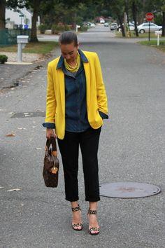 Monday Mingle: Androgynous Working-Girl Style « Thirty Something Fashion – Carly Walko