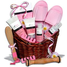 Pedicure Gift Basket
