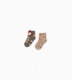 Fox socks from Zara
