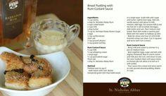 Bread pudding. Recipe by St. Nicholas Abbey in Barbados #BarbadosLIFE ...