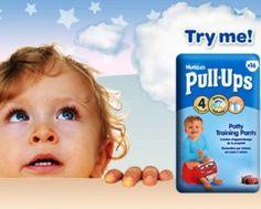 FREE Huggies Pull-Ups - Gratisfaction UK Freebies #freebies #freebiesuk #freestuff