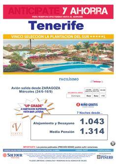 Tenerife -Anticípate y Ahorra- Hotel Vincci Seleccion La Plantación del Sur, salidas desde Zaragoza ultimo minuto - http://zocotours.com/tenerife-anticipate-y-ahorra-hotel-vincci-seleccion-la-plantacion-del-sur-salidas-desde-zaragoza-ultimo-minuto/