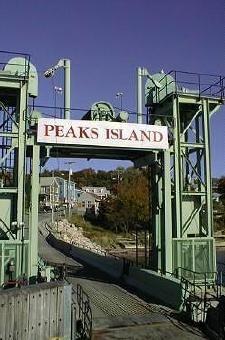 Peaks island, maine...  ferry dock